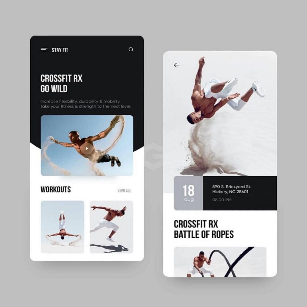 Gym & Fitness Template 4