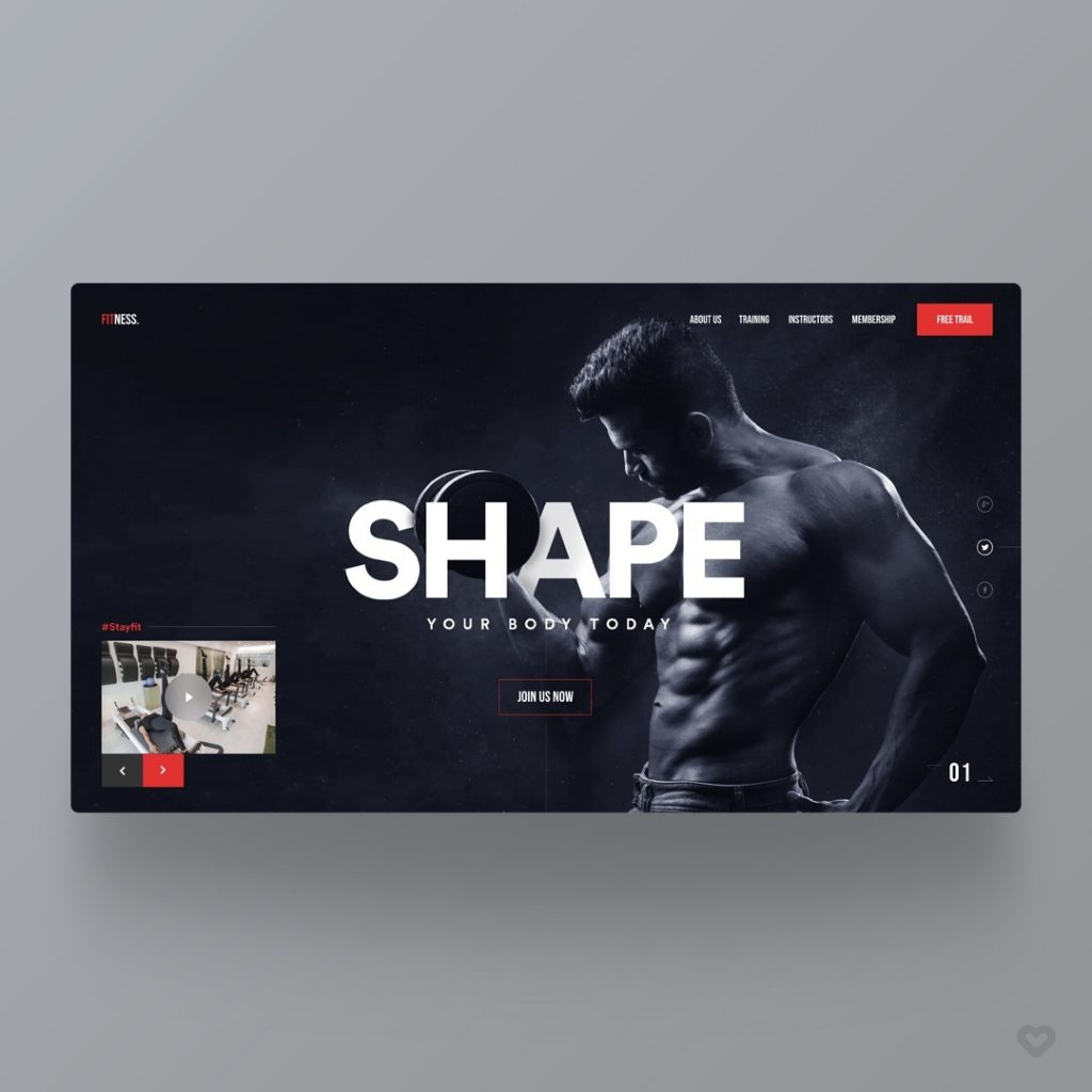 Gym & Fitness Template 6